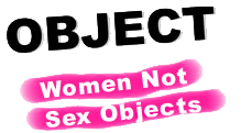Object, women not sex objects
