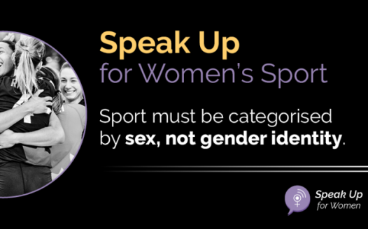 Speak up for womens sports